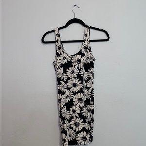 Forever21 Bodycon Flower Dress
